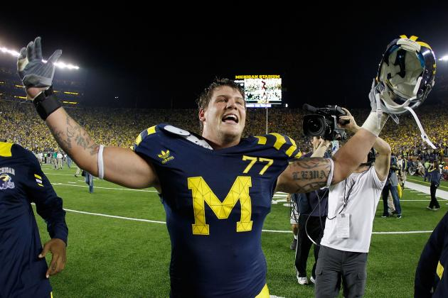 Michigan's Taylor Lewan Says His College Career Has Been a Failure so Far