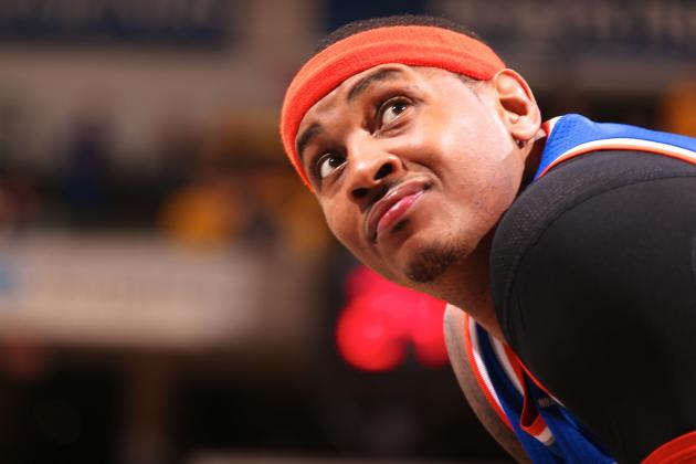NY Knicks Wasting Opportunity to Build Around Carmelo Anthony at Power Forward