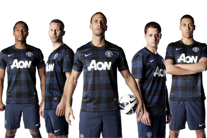 Manchester United Launch 2013-14 Away Kit: The Football World Reacts