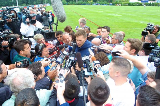 Tom Brady Speaks out on Aaron Hernandez and Future with Patriots