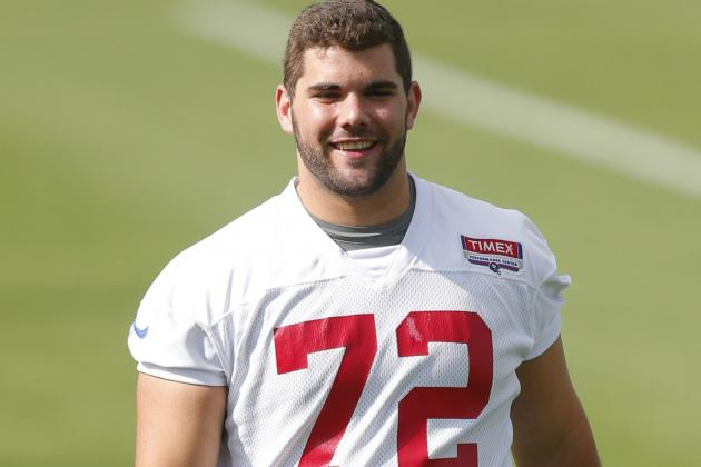 Giants First-Round Pick Justin Pugh Signs Contract