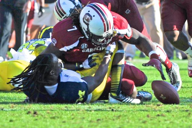 Devin Gardner Thinks Jadevon Clowney's Big Hit Was 'Blown out of Proportion'