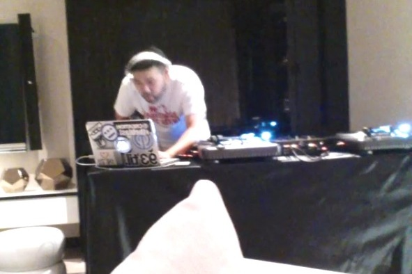 LeBron Has a 24-Hour DJ Playing Music in His Hotel Room in China