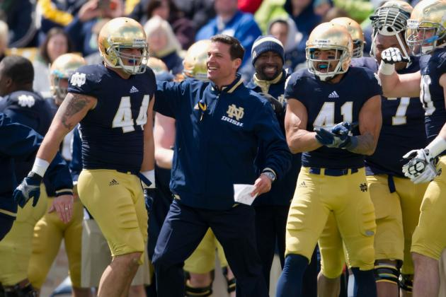 Irish to Open 2013 Camp on the Road