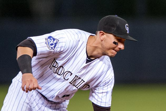 Troy Tulowitzki out of Lineup Today vs. Marlins