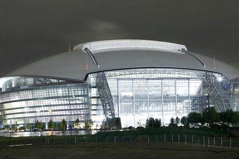 Home of the Dallas Cowboys Is Now AT&T Stadium