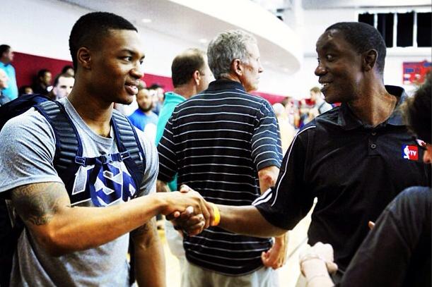 Instagram: Lillard Meets an NBA Legend