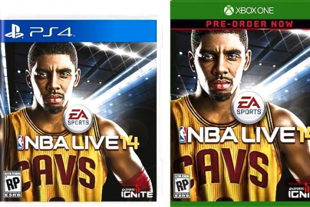 Cleveland Cavaliers Star Kyrie Irving Is Cover Athlete for 'NBA Live 2014'