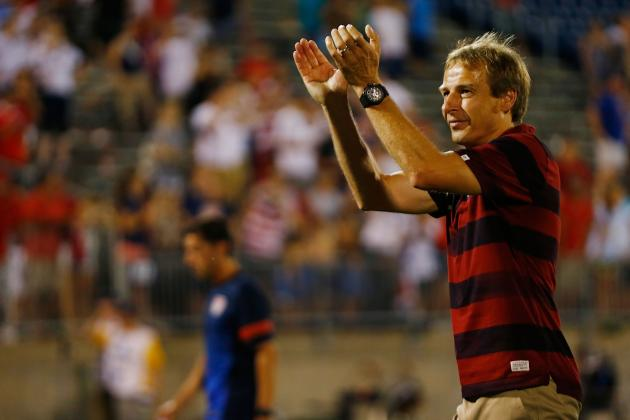 USMNT Coach Jurgen Klinsmann Right to Show Emotion but Wrong to Get Sent off