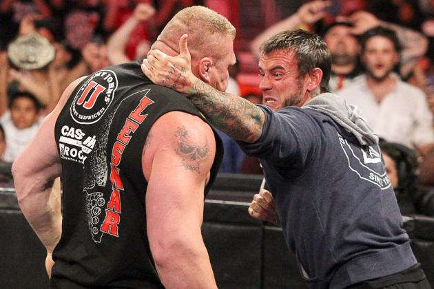CM Punk's Feud with Brock Lesnar Will Bring out the Best in Former WWE Champion