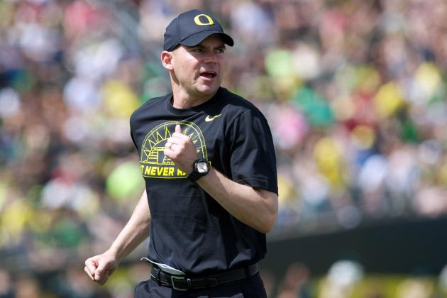 Oregon Ducks Links: Mark Helfrich Says 'Aggressive Nature' Will Continue