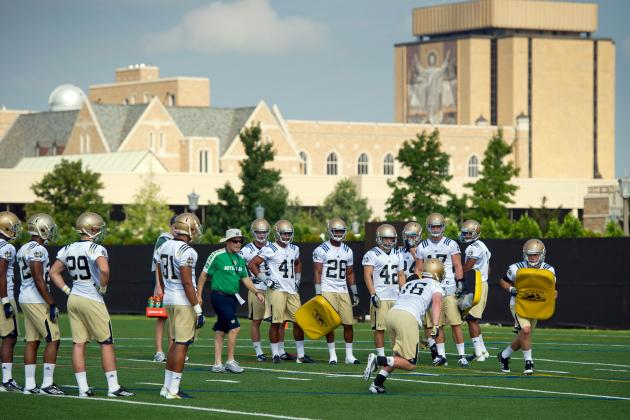 Notre Dame Football: Irish to Open Fall Practice off-Campus