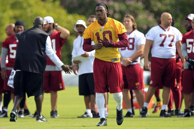 RG3 Deemed Fit, but Redskins Cautious