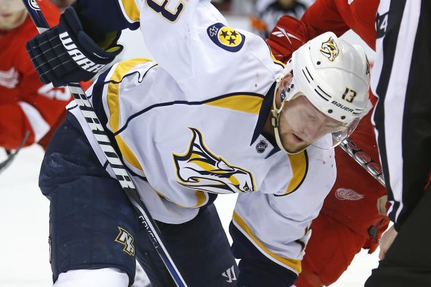 Nashville Predators Re-Sign Nick Spaling to One-Year Deal