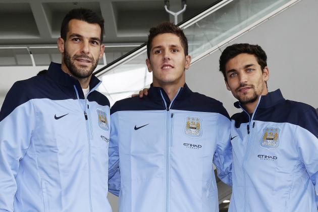 Manchester City: Does Manuel Pellegrini Have Premier League's Best Strike Force?