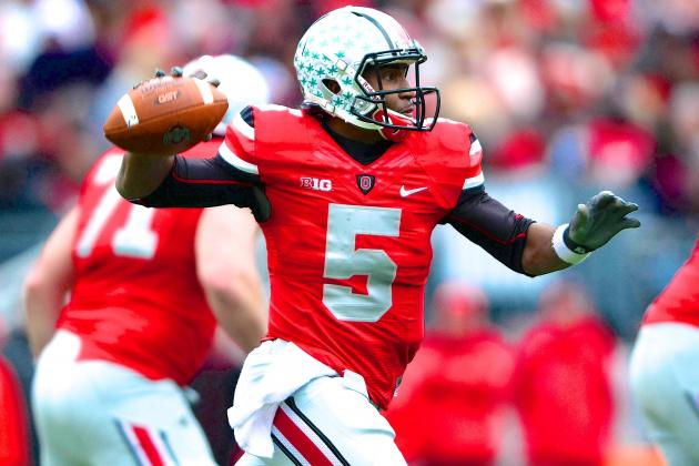 Urban Meyer Won't Call Braxton Miller a 2013 Heisman Candidate Yet