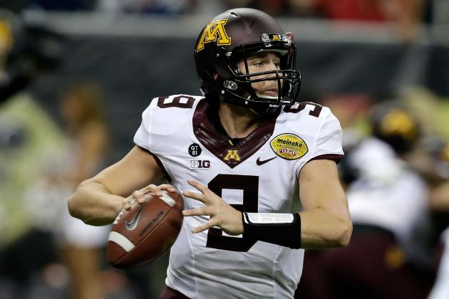 Jerry Kill Sees Skill, Depth at QB Position for Gophers