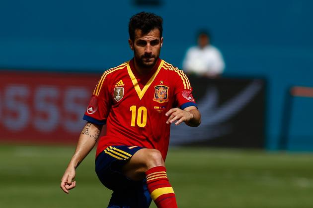 United Would Be Fab: Cesc Reveals He'd Love to Join Moyes and Van Persie