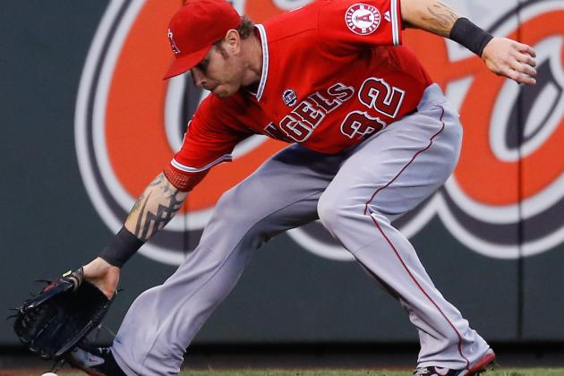 Josh Hamilton Back in Lineup After Missing Three Games with Anklestiffness