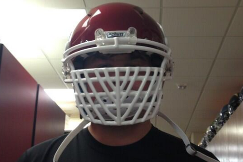 Photo: Oklahoma Will Wear Some Crazy Facemasks in the Fall