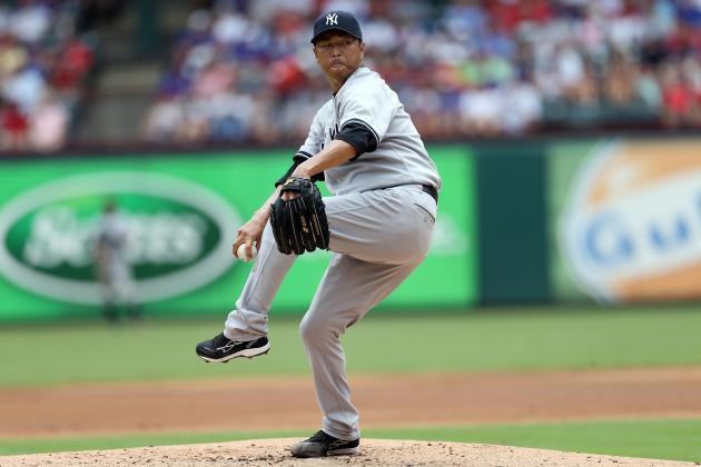 Kuroda, Yankees Shut Down Rangers