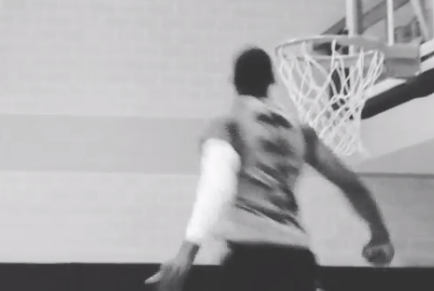 Glenn Robinson III Shows off Freakish Leaping Ability, Array of New Dunks