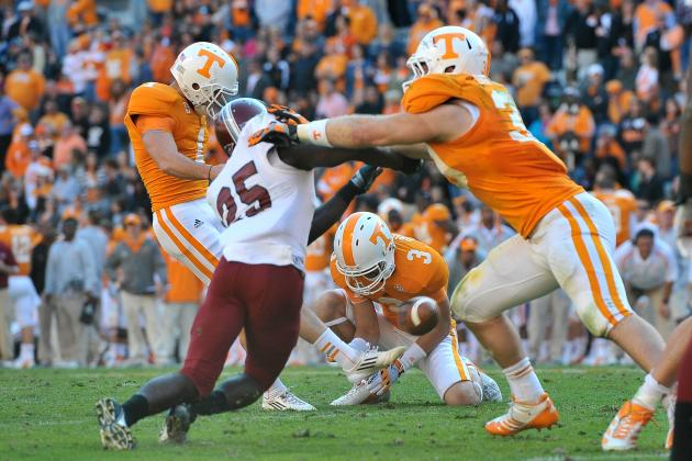 Tennessee Football: Senior Season Will Be Last Chance for Michael Palardy
