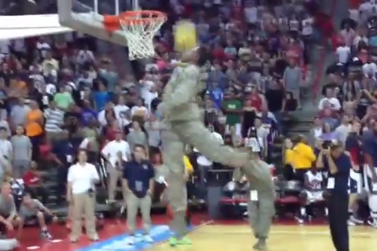 Instagram Video: Air Force Member Throws It Down