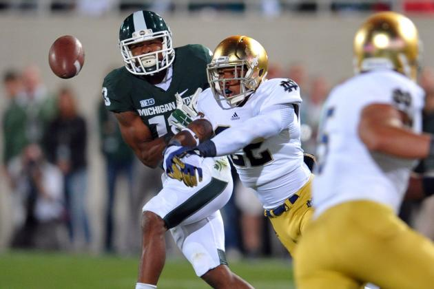 Notre Dame Football 2013: Previewing the Irish's Game Against Michigan State