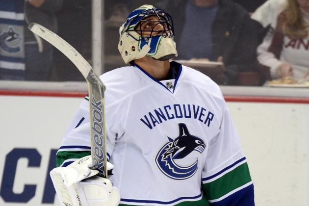 Ex-Agent: Luongo 'treated Like a Piece of Paper, a 4th-Line Player' by Vancouver