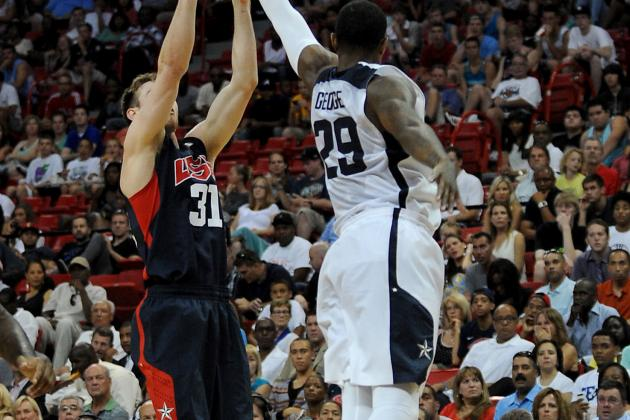 Gordon Hayward Upset, Derrick Favors in Pain After Team USA Scrimmage