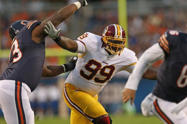 Redskins Rebound: With Adam Carriker Out, Jarvis Jenkins Will Star in Washington