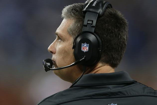 Lions Coach Jim Schwartz Is Bullish on Prospects in '13