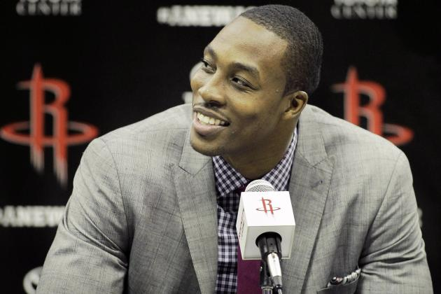 Houston Rockets Put Up Dwight Howard and James Harden Graphic for 'H-Town'