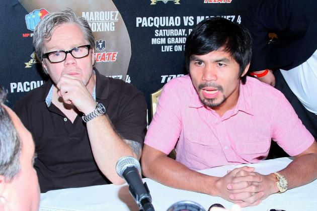 Roach Says He Has a Great Plan for Pacquiao to Beat Rios