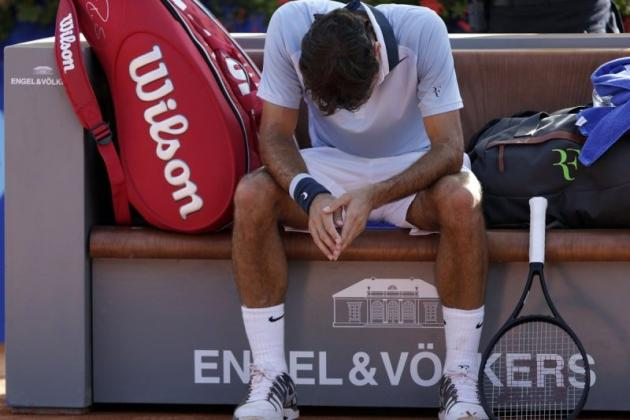 Federer Knocked From Swiss Open