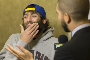 Jorge Masvidal Plans to File Complaint About Michael Chiesa's Beard