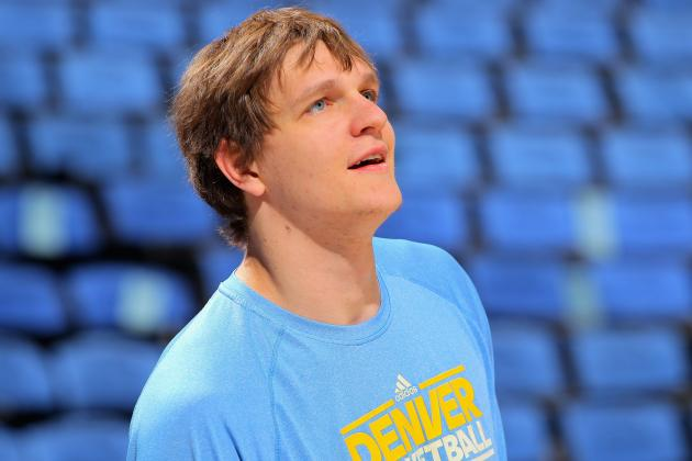 Report: Mozgov, Nuggets Reach Agreement on 3-Year Deal