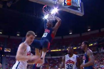 John Wall Throws Down In USA Basketball Scrimmage (VIDEO)