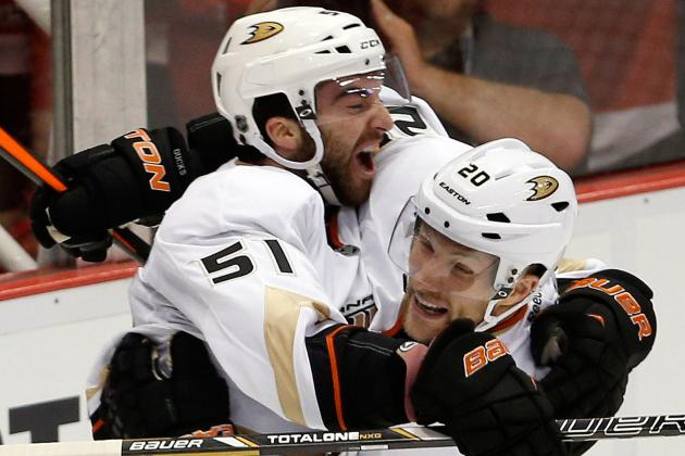 Ducks Sign Right Wing Palmieri to Three-Year Contract