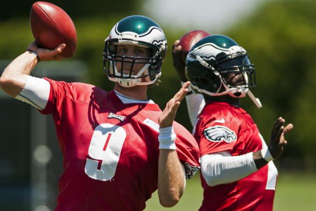 Vick, Foles Keep Splitting First-Team Reps