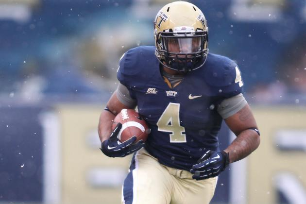 Former Pitt RB Shell Picks WVU as Transfer Destination