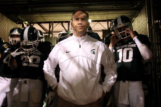 Michigan State Football Coach Mark Dantonio Says Spartans Have 3-4