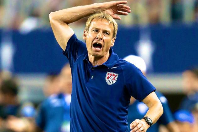 USMNT Coach Jurgen Klinsmann Right to Show Emotion but Wrong to Get Sent off