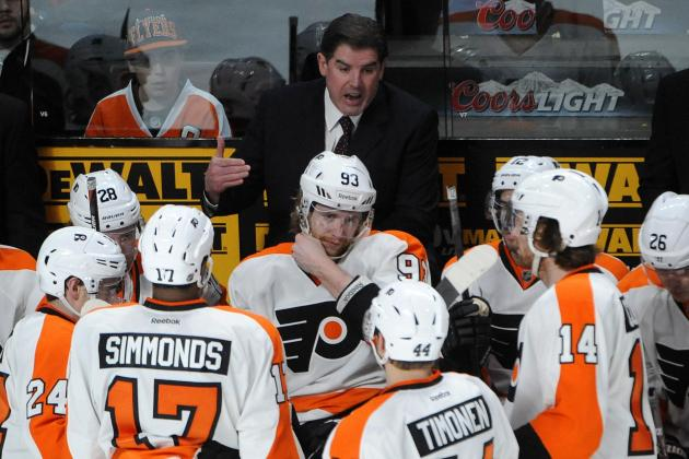 Flyers' Peter Laviolette and Penguins' Dan Bylsma: The Coaching Odd Couple