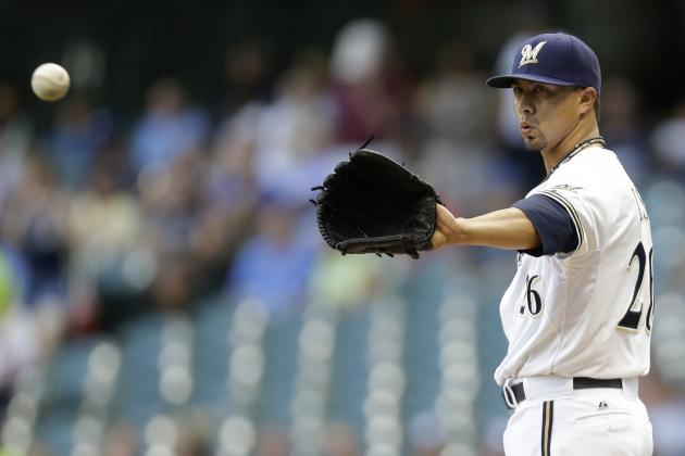 Breaking Down Potential Suitors for Milwaukee Brewers Pitcher Kyle Lohse