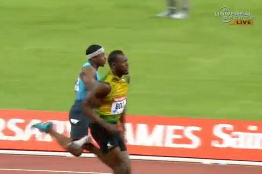 Video: Bolt Surges from Behind to Win 100-Meter Dash