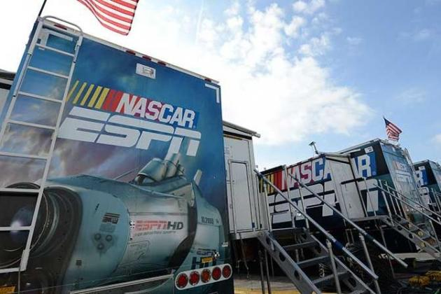 UPS GAME CHANGERS: ESPN RETURNS to SPRINT CUP
