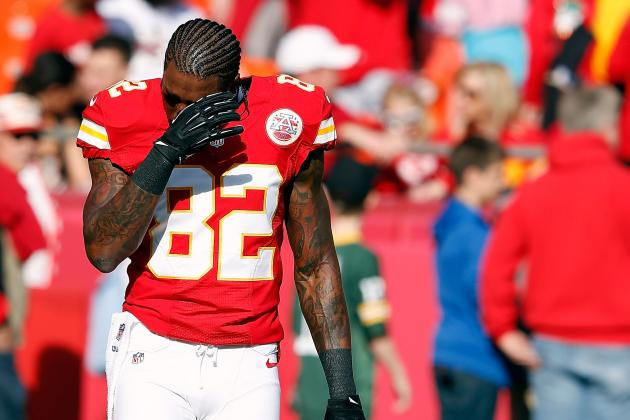 Dwayne Bowe Placed on NFI List by Chiefs