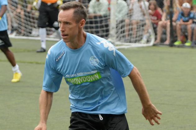 Steve Nash Will Have Tryout for Inter Milan